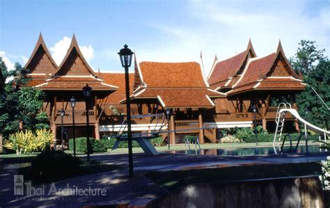 Thai Design thai architecture dr pinyo suwankiri