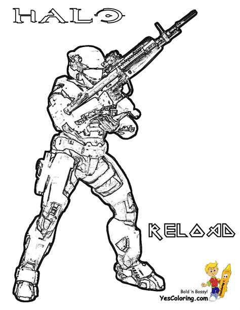 spartan colouring pages