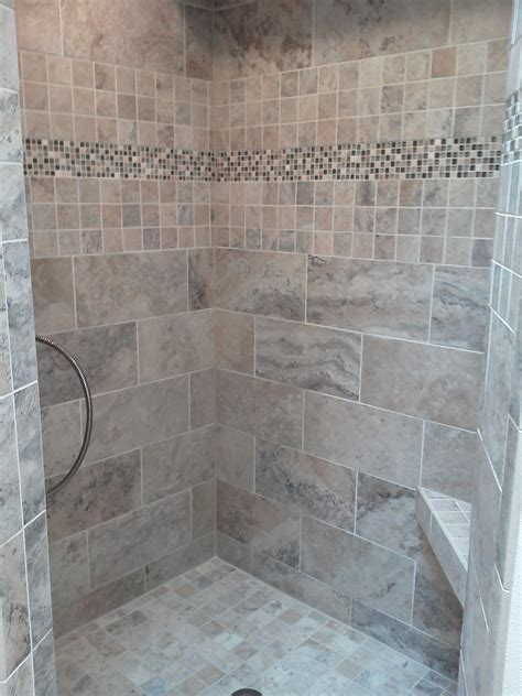 Accent Tiles For Shower by Bathroom Tiled Shower Wall Panel With