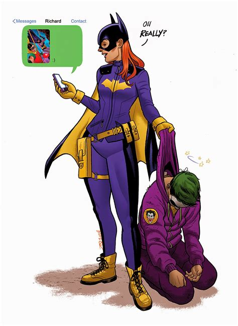 13 Great New To by 13 Great Batgirl Of Burnside Illustrations 13th