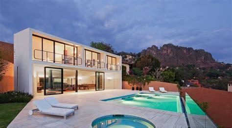 imagenes de casas minimalistas grandes casa con piscina en m 233 xico