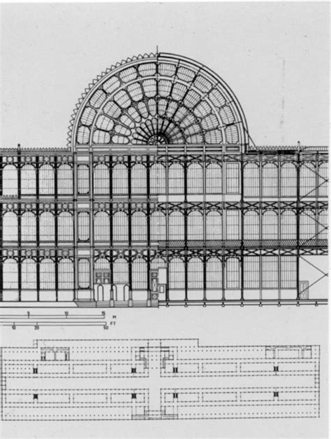 Victoria And Albert Museum Floor Plan ad classics the crystal palace joseph paxton archdaily