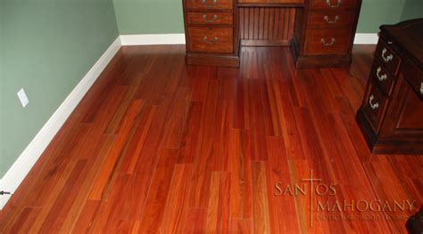 How To Put In Wood Floors by Santos Mahogany Flooring Rich Exotic Hardwood Flooring