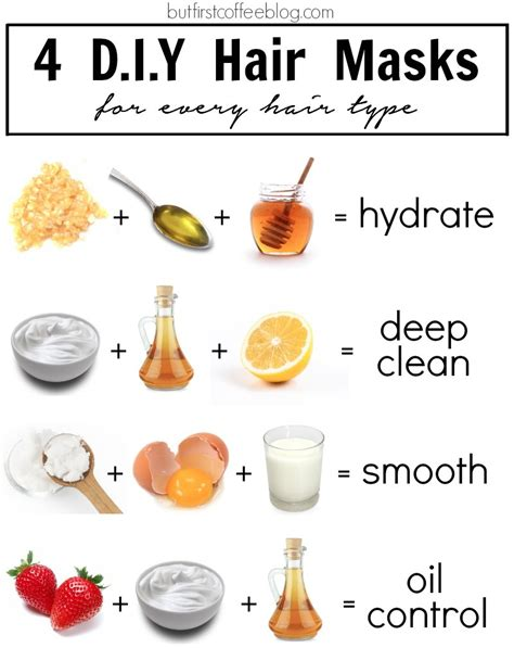 Diy Hair Care Best Hair Masks For Hair Bellatory 4 Diy Hair Masks For Every Hair Type But Coffee Connecticut Based Diy