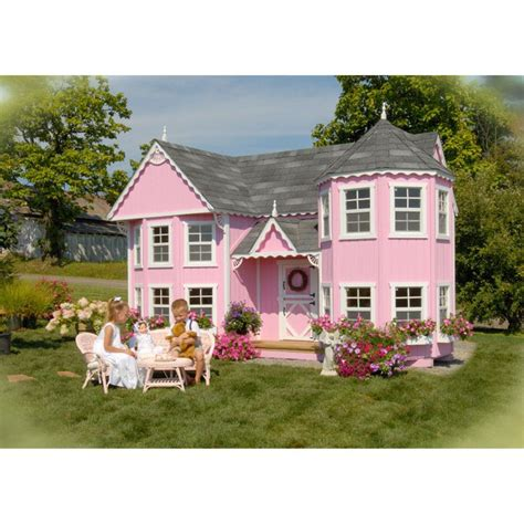 amazon bungalow cottages playhouse kits to buy and build on your own