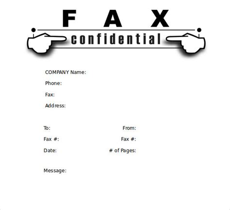 free fax cover sheet blank cover sheet luxury sample modern fax