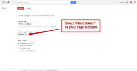 Free Technology For Teachers Use Google Sites File Cabinet Templates To Create A B Roll Media File Cabinet Template