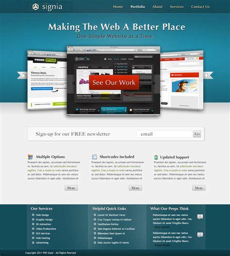 pinwall modern website template psd freebie no 103 stunning modern websites templates photos documentation