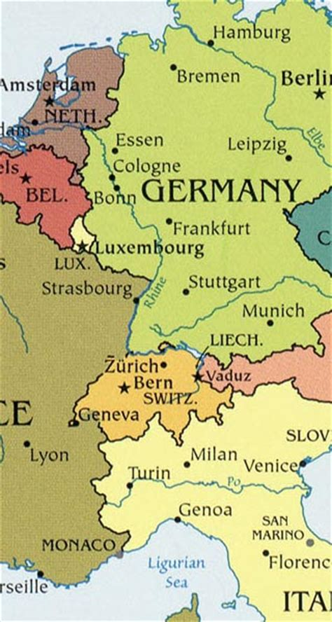 where is liechtenstein on the world map liechtenstein maps including outline and topographical