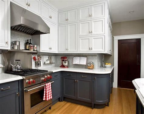 two toned kitchen cabinet trend 12 of the hottest kitchen trends awful or wonderful