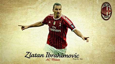 zlatan ibrahimovic ac milan wallpapers collection