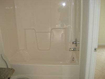 Colored Shower Stalls by How To Change The Color Of A Fiberglass Tub Shower Enclosure