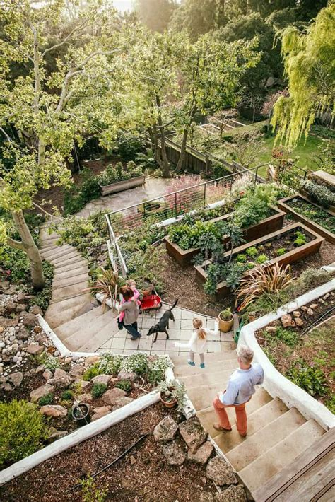 Sloped Backyards 20 sloped backyard design ideas designrulz