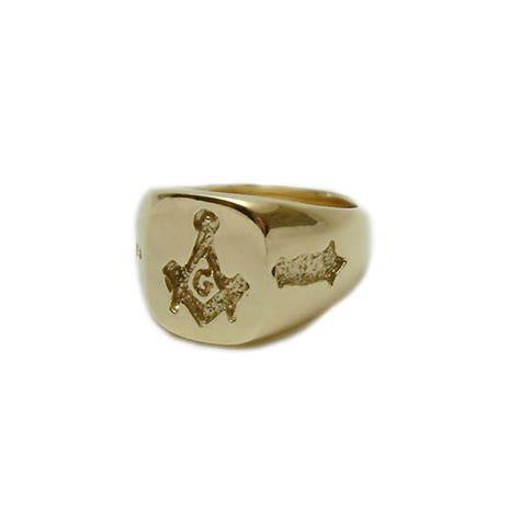 14k gold masonic ring mens kokkinos creative jewelers