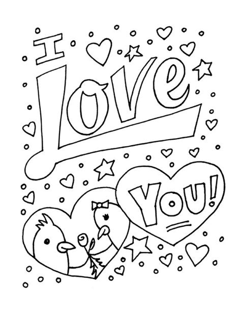 free printable coloring pages that say i love you coloring sheets you can print color monster drawings