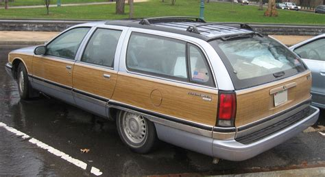 green station wagon with wood wood you drive it shitty car mods