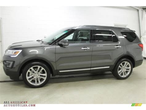 magnetic color 2016 ford explorer limited 4wd in magnetic metallic