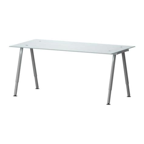 galant desk adjustable height space