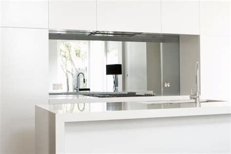 Apartment Kitchens Mirrortex Mirror Glass The Splashback Co Melbourne