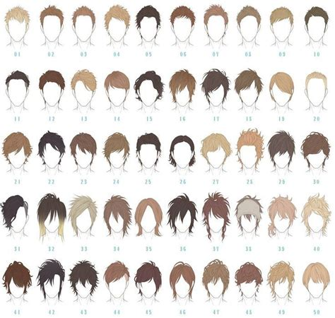 anime hairstyles guide best 25 anime boy hairstyles ideas on pinterest anime