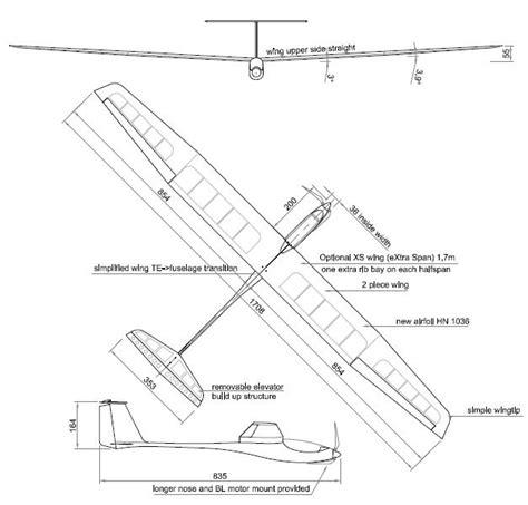 Easy Balsa Wood Glider Plans