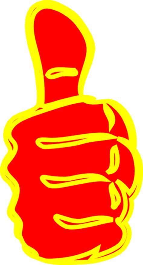 thumb  clip art  clkercom vector clip art
