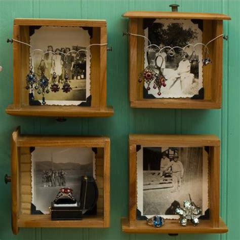 vintage this repurpose that repurpose old drawers creative pinterest