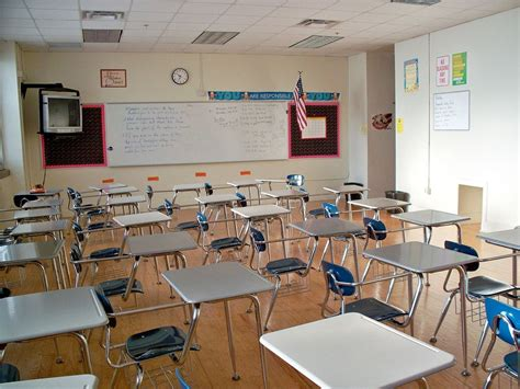 classroom layout for high school to the teachers