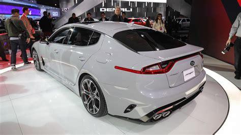 Detroit Kia 2018 Kia Stinger Is A Stylish Gran Turismo With Biturbo V6