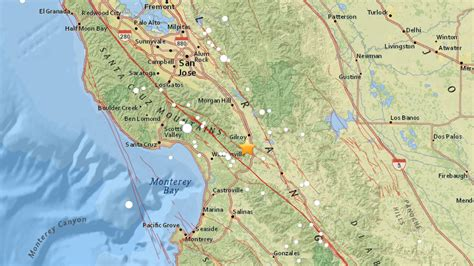 earthquake gilroy magnitude 3 6 earthquake rattles gilroy 171 cbs san francisco