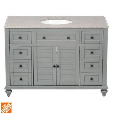 home decorators collection hamilton 49 in vanity in grey home decorators collection hamilton 49 in vanity in grey