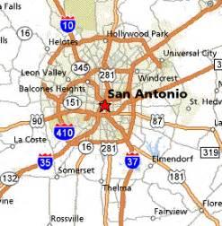 san antonio city map san antonio map