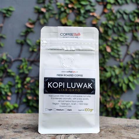 Kopi Gayo Luwak Liar Arabica Roasted 200gr luwak coffee talk