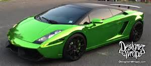 Green Chrome Lamborghini Green Chrome Lamborghini Gallardo Green Chrome