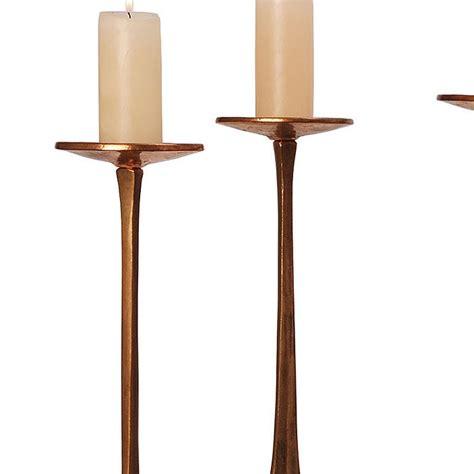 harjes metallkunst candlesticks candle holder bronze