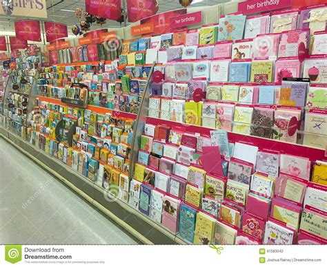 Stop And Shop Gift Card Selection - american greetings card selection at store editorial