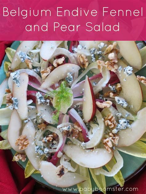 Endives Benefits For Detoxing by Belgium Endive Fennel And Pear Salad Recipe