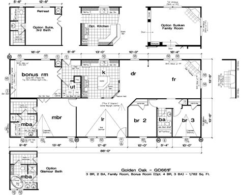 golden west golden oak floor plans 5starhomes