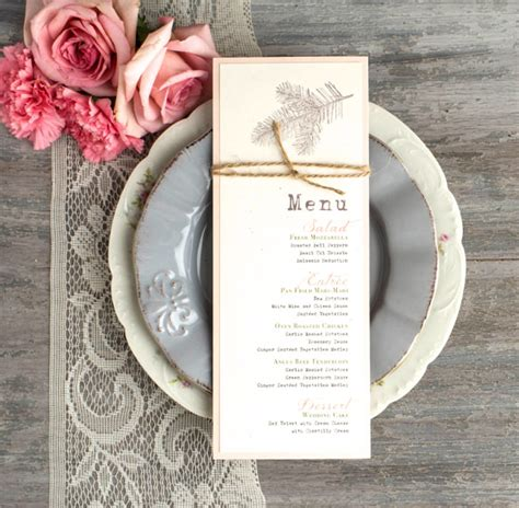 pages menu card template 45 menu card templates free sle exle format