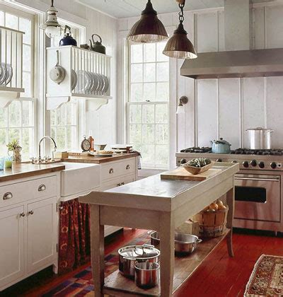 cottage kitchen island rustic cottage design for a truly comfortable kitchen
