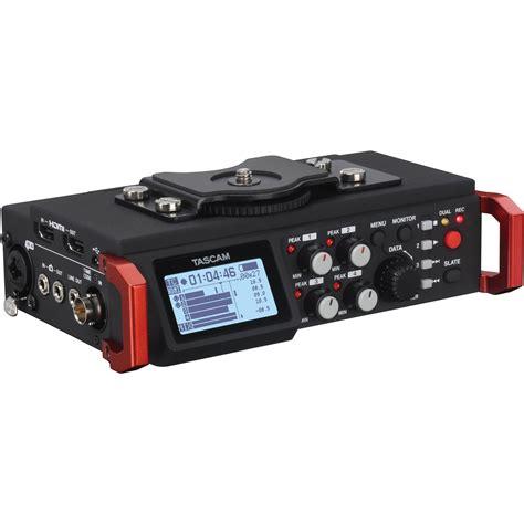 Tascam Dr 70d Professional Field Recorder tascam dr 701d 6 track field recorder for dslr dr 701d b h photo