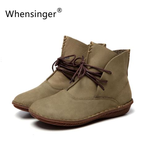 Handmade Leather Boots For - aliexpress buy whensinger 2016 shoes