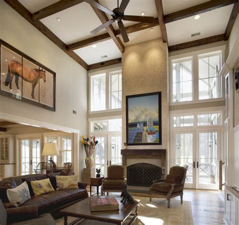 Living Rooms With Vaulted Ceilings Vaulted Ceiling Lighting Ideas To Beautify You Home Design Gallery Gallery