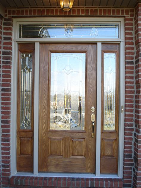 Exterior Doors With Sidelites Exterior Doors With Fiberglass Door Sidelites Therma Tru Craftsman Iron Home Entry Doors Steel