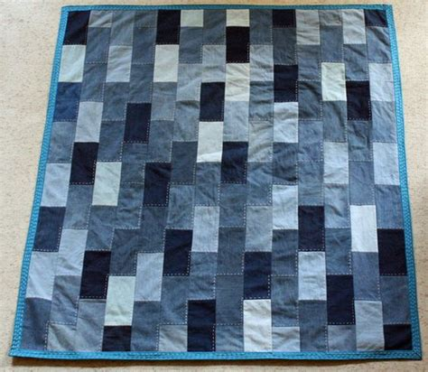 jeans blanket pattern denim quilt made from old jeans wool boys and patterns