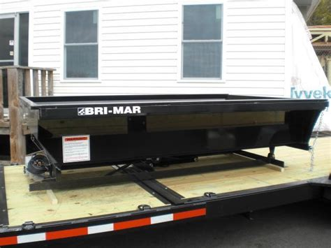 bri mar dump insert   cab protector  enclosed cargo utility landscape equipment car