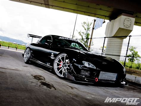Car Drift Types by 1998 Mazda Rx 7 Type Rs Import Tuner Magazine