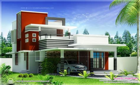 contemporary home plans and designs kerala house designs architecture pinterest kerala