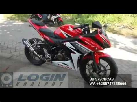 Knalpot Racing Proliner All New Cb150 knalpot racing all new cbr150r facelift 2016 knalpot racing orgin