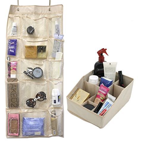 The Door Cosmetic Organizer by Paylak Scr688 Set The Door Storage 15 Pocket And